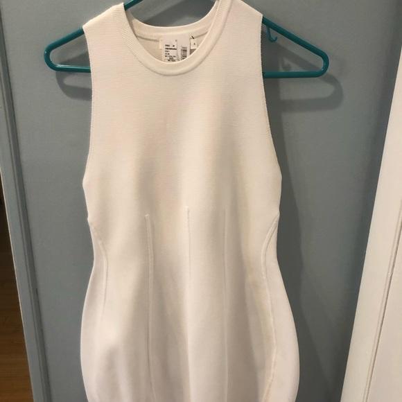 A.L.C. Dresses & Skirts - A.L.C. Bidycon white ribbed dress s